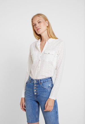 HILLY BLOUSE - Bluse - chalk
