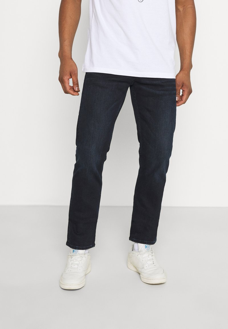 Replay - GROVER  - Straight leg jeans - dark blue
