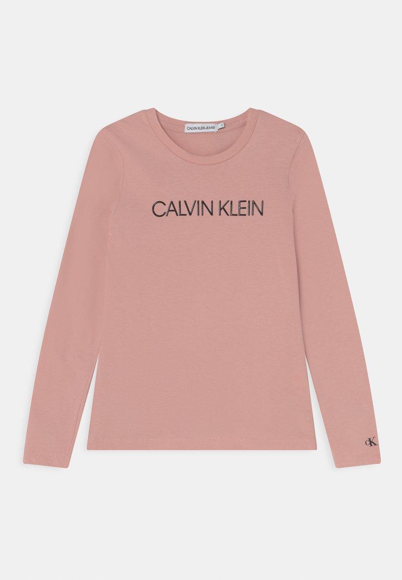 Calvin Klein Jeans - INSTITUTIONAL LOGO - Long sleeved top - delicate rose