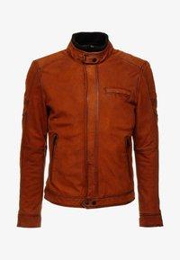 Oakwood - JAYDEN - Leather jacket - whisky - 6