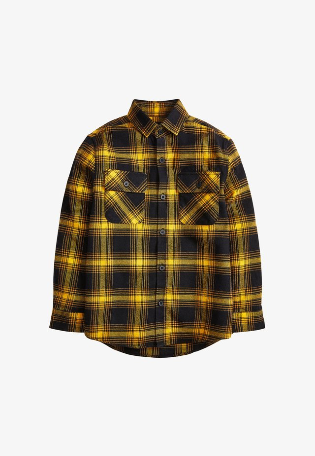 CHECK - Shirt - yellow
