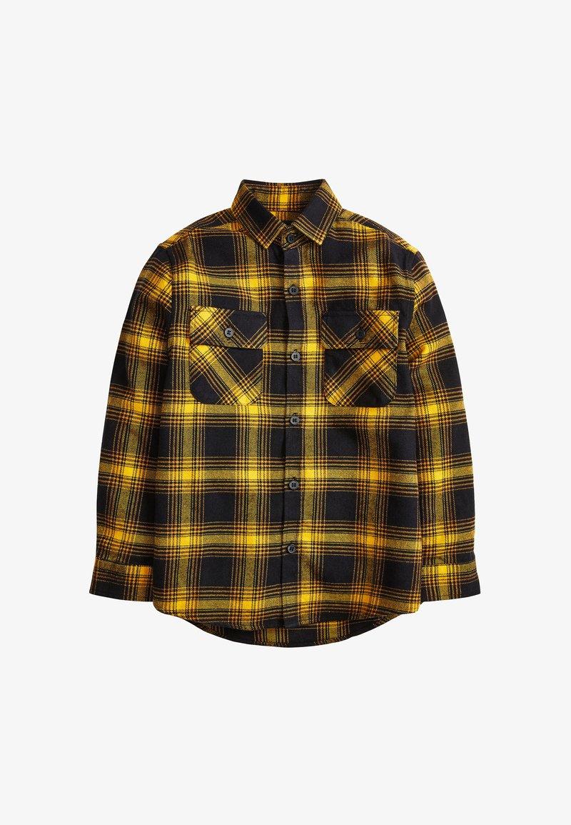 Next - CHECK - Košile - yellow