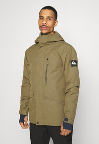 Quiksilver - MISSION SOLID - Snowboard jacket - military olive - 0