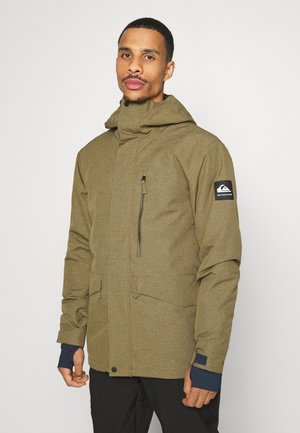 MISSION SOLI - Snowboard jacket - military olive