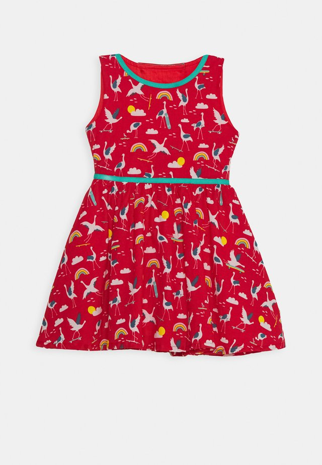 IMMY DRESS - Freizeitkleid - red