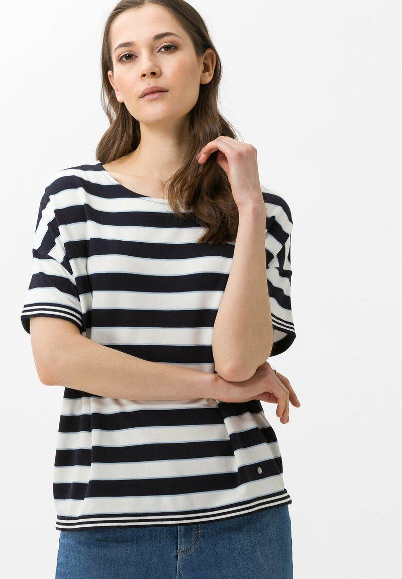 BRAX - Style Rachel - Print T-shirt - navy