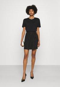 Emporio Armani - Mini skirt - black - 1
