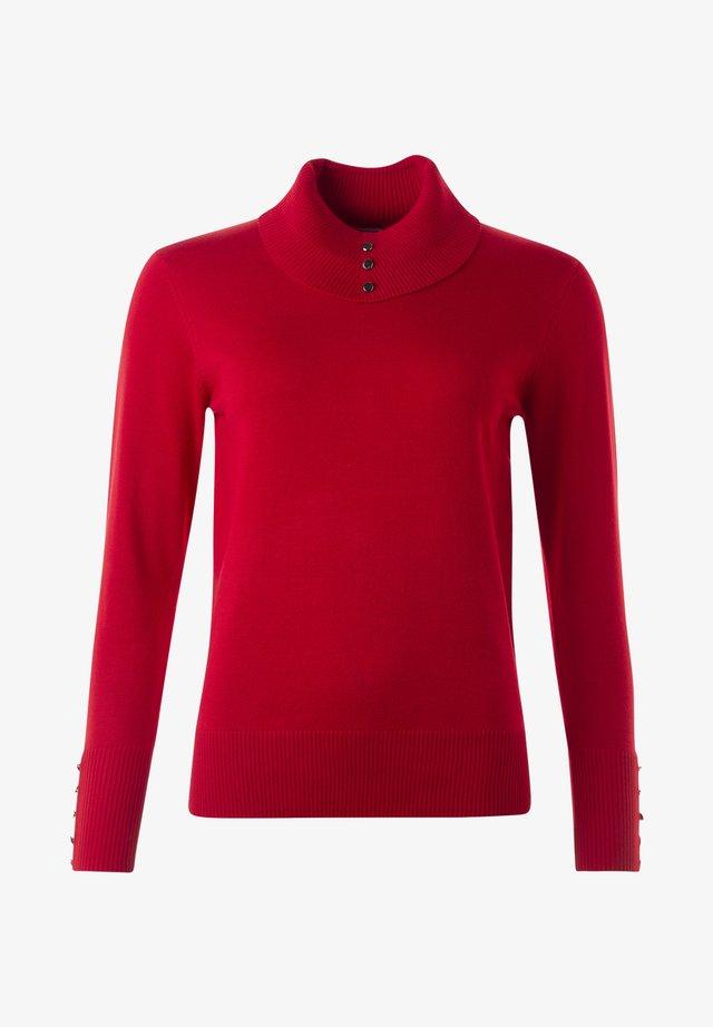 JACKIE - Stickad tröja - true red