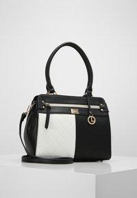 L.CREDI - GIULIA - Handbag - schwarz/ weiss - 1