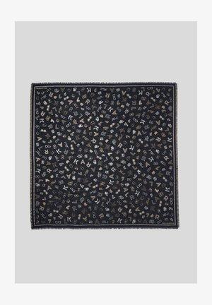 K/PINS JACQUARD  - Chusta - black