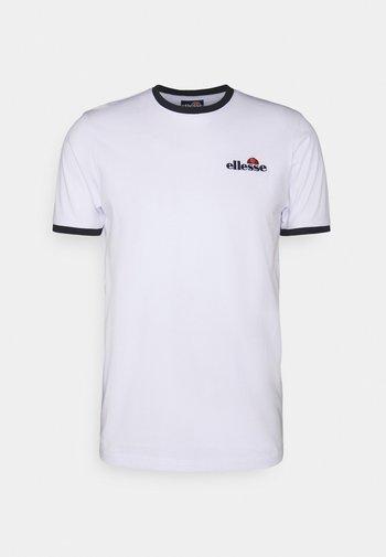 MEDUNO TEE - T-shirt imprimé - white