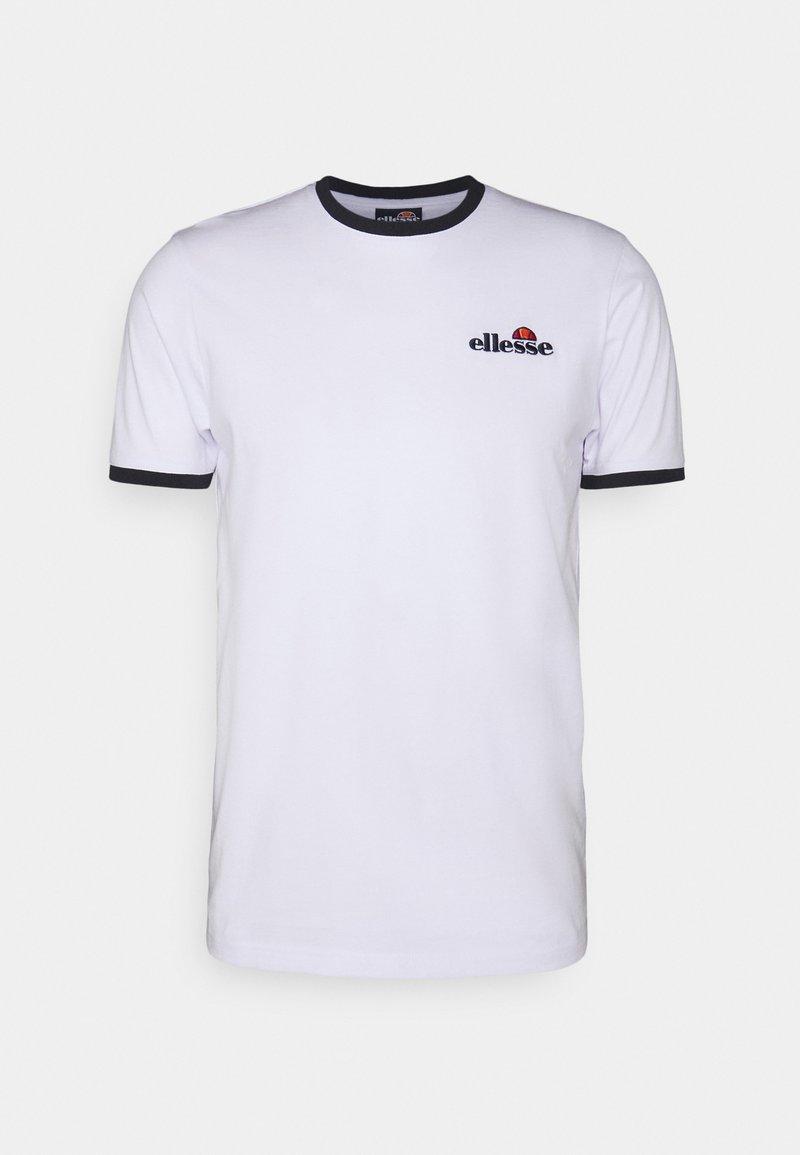 Ellesse - MEDUNO TEE - T-shirt imprimé - white