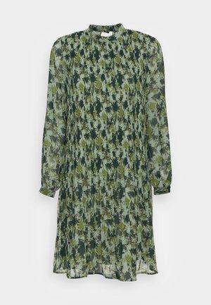 Sukienka koszulowa - dusty green