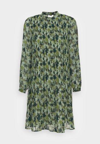 Skjortekjole - dusty green