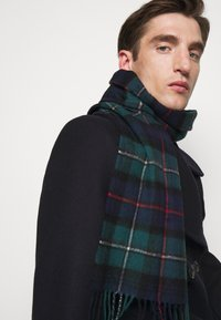 Barbour - NEW CHECK TARTAN SCARF - Scarf - blue - 0