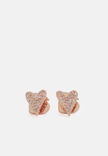STUDS - Earrings - rose gold-coloured