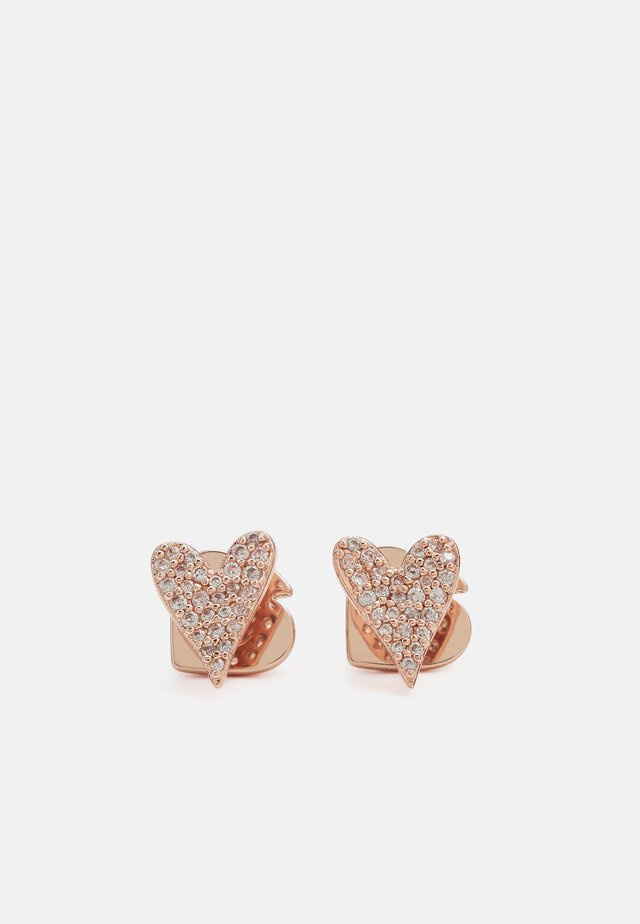 STUDS - Örhänge - rose gold-coloured