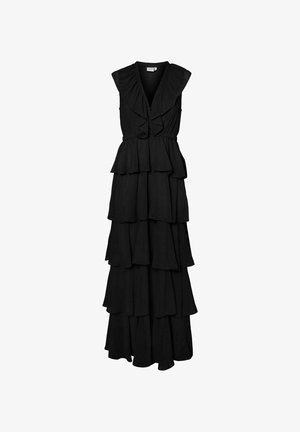 V-AUSSCHNITT- - Maxi dress - black