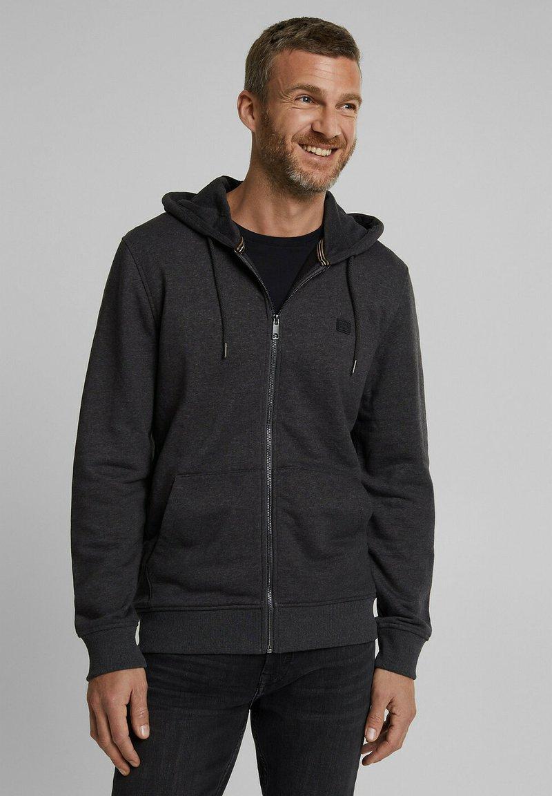 Esprit - Zip-up hoodie - anthracite