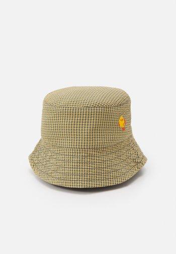 BUCKET HAT - Hat - sand/iris blue