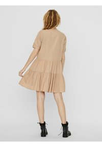 Vero Moda - VMDELTA DRESS - Shirt dress - beige - 2