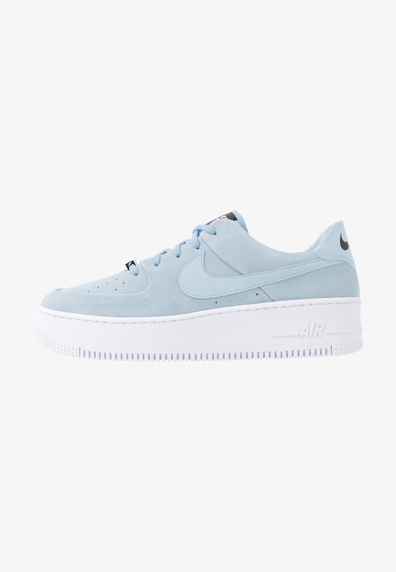 Nike Sportswear - AIR FORCE 1 SAGE - Sneakers laag - light armory blue/blue/white