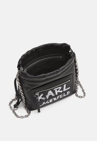 KARL LAGERFELD - SOHO GRAFFITI SMALL - Across body bag - black - 2
