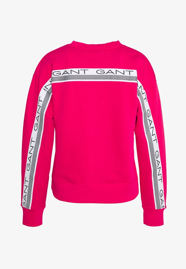 STRIPES C NECK - Collegepaita - love pink