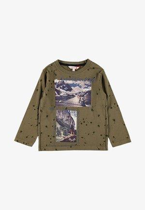 T-shirt à manches longues - olive