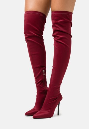 MAUREEN - High heeled boots - burgundy