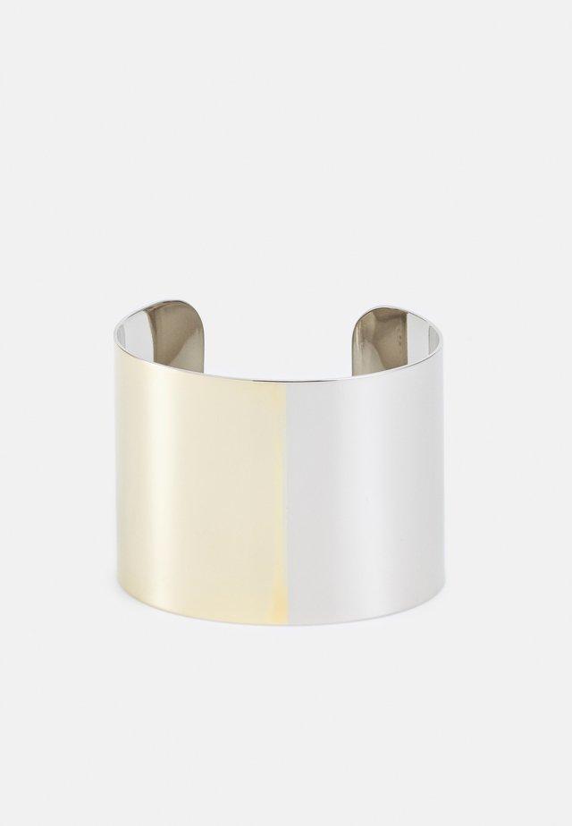 BRACCIALE - Bracelet - palladium-coloured/yellow gold-coloured