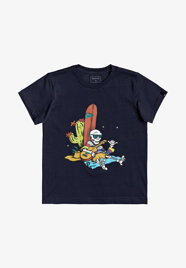 BORN SLIPPY - T-shirt print - parisian night