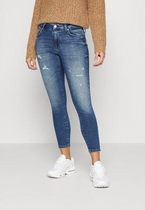 ONLISA - Jeans Skinny Fit - dark blue denim