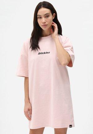 Jersey dress - light pink