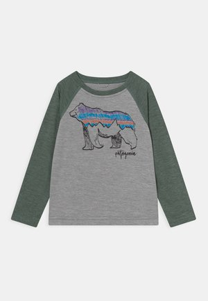 COOL DAILY CREW UNISEX - T-shirt à manches longues - grey