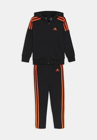 adidas Performance - UNISEX - Tracksuit - black/true orange - 0