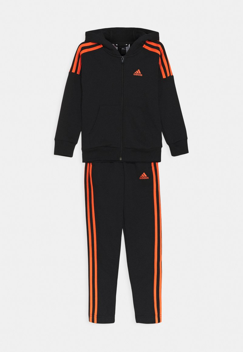 adidas Performance - UNISEX - Tracksuit - black/true orange