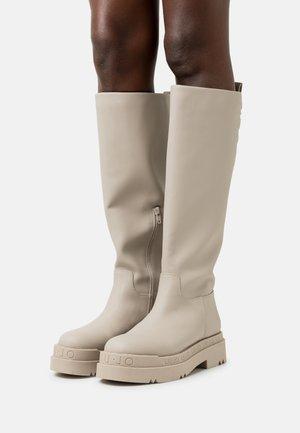LOVE 18 - Platform boots - taupe