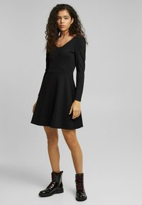 edc by Esprit - PUNTI  - Day dress - black - 4
