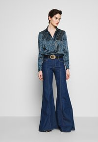 Versace Jeans Couture - Button-down blouse - indigo - 1