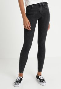 ONLY - ONLPOWER MID PUSH UP - Jeans Skinny Fit - grey denim - 0