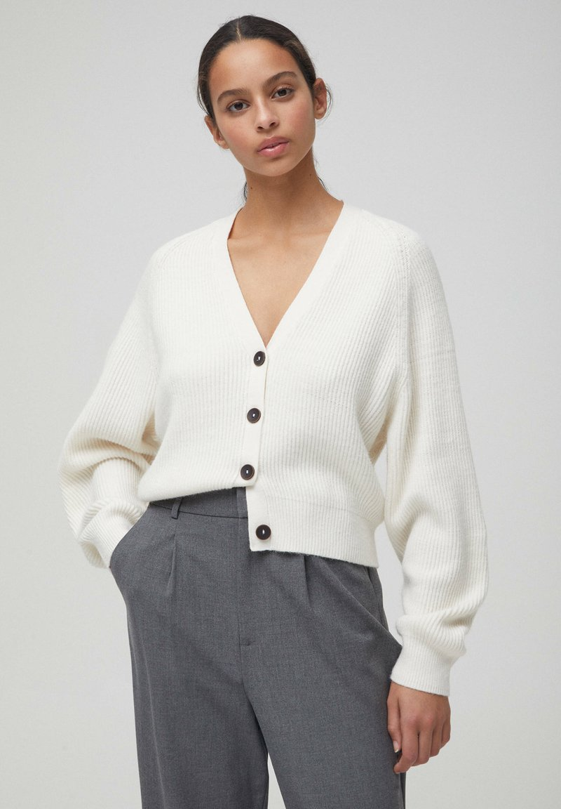 PULL&BEAR - Cardigan - beige