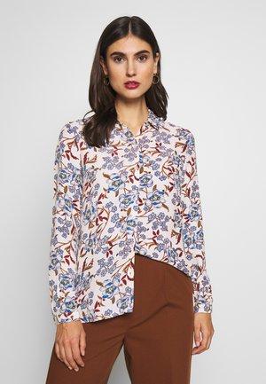 CAMISA FLOR INDIGO - Button-down blouse - Beige