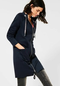 Cecil - Zip-up hoodie - deep blue - 0