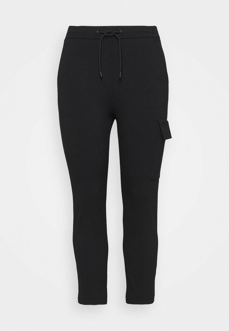 Marc O'Polo DENIM - PANTS - Cargo trousers - black