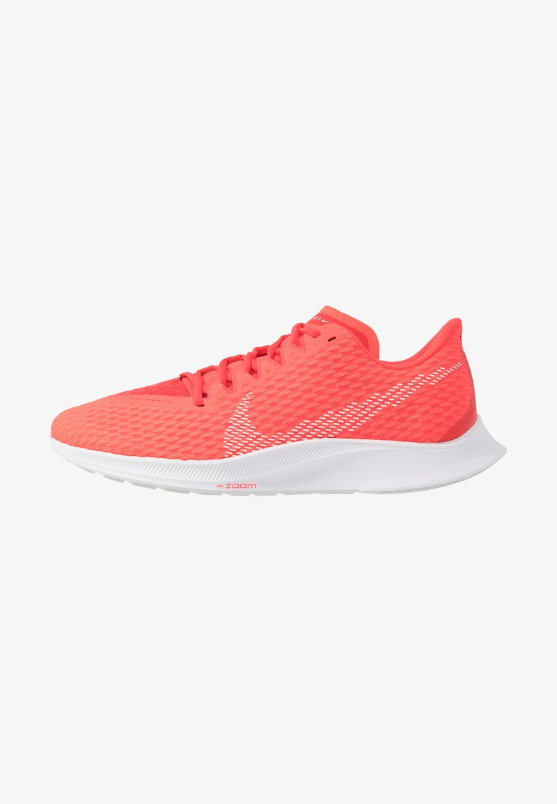 Nike Performance - ZOOM RIVAL FLY 2 - Neutral running shoes - laser crimson/white/photon dust