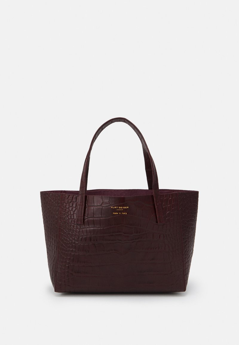 Kurt Geiger London - MINI TOTE - Handtasche - wine