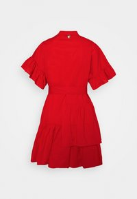 TWINSET - ABITO MORBIDO IN COMFORT - Shirt dress - corallo
