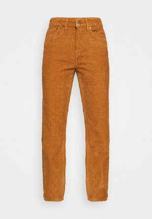 TAN JUMBO MOM PANT - Trousers - tan