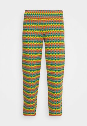 BORDER PANTS LADYLAND - Trousers - umbre